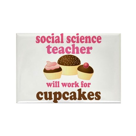 Funny Social Science Teacher Rectangle Magnet