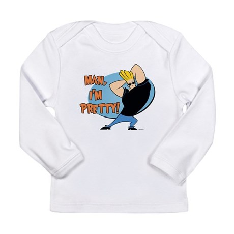 Man I'm Pretty Long Sleeve Infant T-Shirt