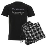 Consciousness Naps Men's Dark Pajamas