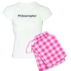 Philosoraptor Women's Light Pajamas