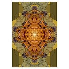 Sacred Geometry Metatron's Cube Mandala Two