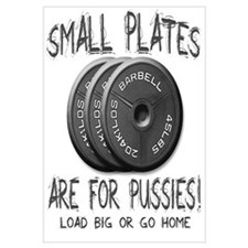 Small plates...