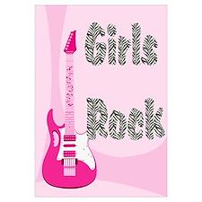 Girls Rock Pink Guitar