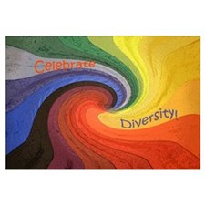 Cute Diversity Wall Art