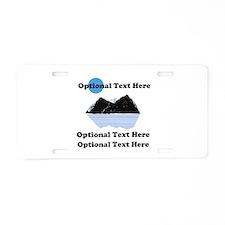 Your Mt. Picture Aluminum License Plate