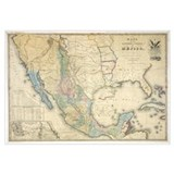 of Disturnell map of Mexico