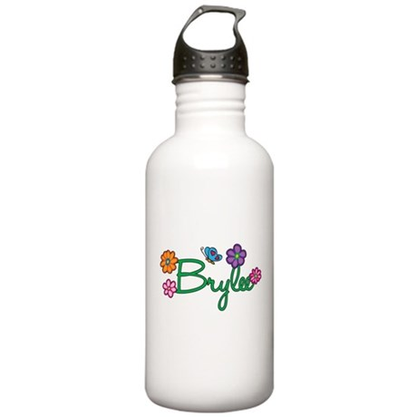 Brylee Flowers Stainless Water Bottle 1.0L