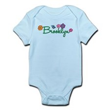 Brooklyn Flowers Infant Bodysuit