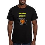 Sarcastic Spider Men's Fitted T-Shirt (dark)