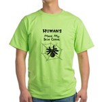 Sarcastic Spider Green T-Shirt