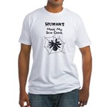 Sarcastic Spider Fitted T-Shirt