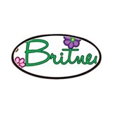 Britney Flowers Patches