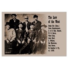 Law of the West Print