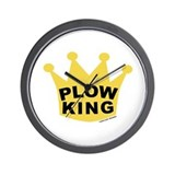 Plow King Wall Clock