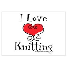I Love (heart) Knitting