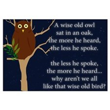 A Wise Old Owl: