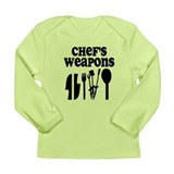 Chef's weapons 2 Long Sleeve Infant T-Shirt