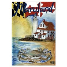 Cute Blue crab Wall Art
