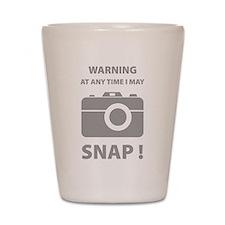 I May Snap Shot Glass