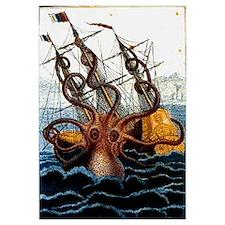 Unique Kraken Wall Art