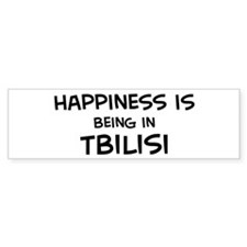 Happiness is Tbilisi Bumper Bumper Sticker