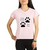 All My Children Have Paws 1 Performance Dry T-Shir