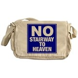 No Stairway To Heaven Messenger Bag