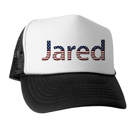 Jared Stars and Stripes Trucker Hat