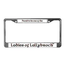 LOL Pride License Plate Frame