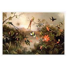 Unique Hummingbird Wall Art