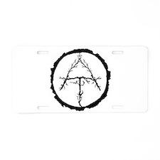Appalachian Trail Twigs Aluminum License Plate