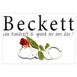 Beckett can handcuff n spank