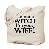 Witch Wife Princess Bride Tote Bag