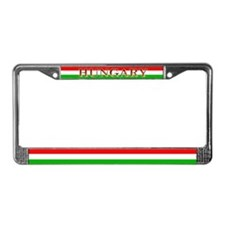 Hungary Hungarian Blank Flag License Plate Frame