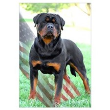 Cute Rottweiler Wall Art