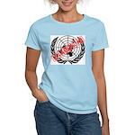 U.N. American Women's Pink T-Shirt