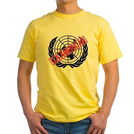 U.N. American Yellow T-Shirt
