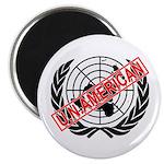 """U.N. American 2.25"""" Magnet (10 pack)"""