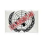 U.N. American Rectangle Magnet