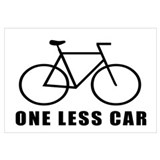 One less car - cycling