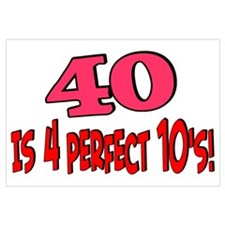 40 is 4 perfect 10s