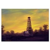'Old Derrick Sunset'