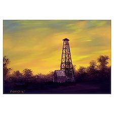 'Old Derrick Sunset'