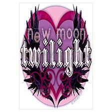 Twilight New Moon Winged Hearts Pink