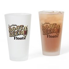 Root Beer Floats Drinking Glass