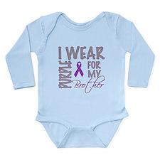 Cute Cure cancer Long Sleeve Infant Bodysuit
