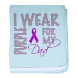 Cute Pancreatic cancer baby blanket