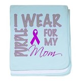 Funny Pancreatic cancer baby blanket