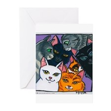 Kitty Cats Greeting Cards (Pk of 10)