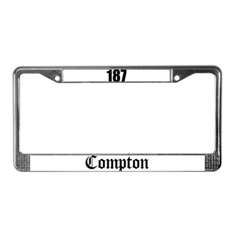 Compton License Plate Frame
